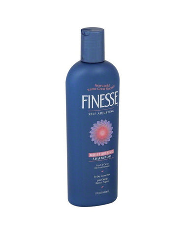 Finesse Moisturizing Shampoo Fresh & Clean Oil Free Formula For Dry Coarse Hair