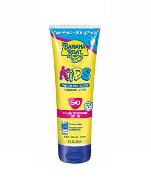 Banana Boat Kids Sunscreen Lotion Spf-50 Uvb Pa+++Sun Tasted,Sun Proven
