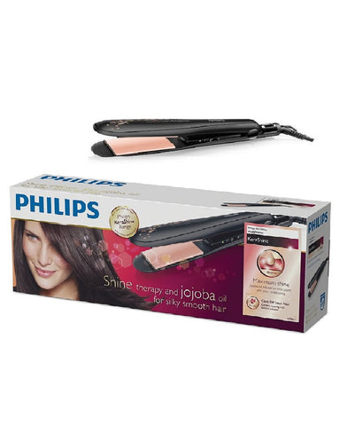 PHILIPS KERASHINE STRAIGHTNER HP8317 , SHINE THERAPY AND JAJOOBA  OIL FOR SILKY SMOOTH HAIR