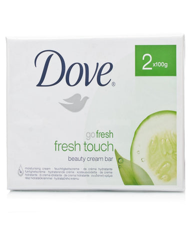 DOVE GO FRESH TOUCH BEAUTY CREAM BAR SOAP