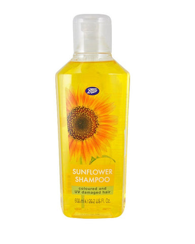 BOOTS  SUNFLOWER SHAMPOO COLOURED AND UV DAMAGED HAIR