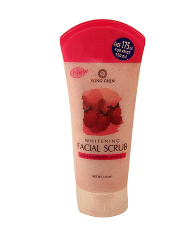 Yong Chin Whitening Facial Scurb With Raspberry Extract