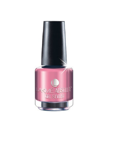 LAKME ABSOLUTE GEL STYLIST NAIL PAINT PINK CHAMPAGNE-15 ML