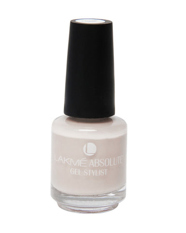 LAKME ABSOLUTE GEL STYLIST NAIL PAINT NUDE GLOW-15 ML