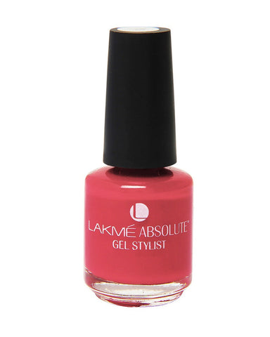 LAKME ABSOLUTE GEL STYLIST NAIL PAINT CORAL RUSH-15 ML