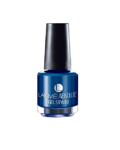 LAKME ABSOLUTE GEL STYLIST NAIL PAINT BLUE ROYAL-15 ML