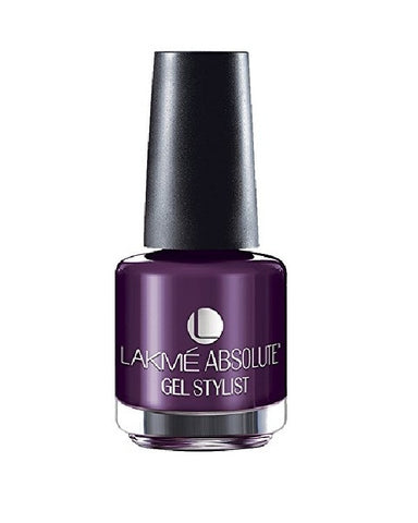 LAKME ABSOLUTE GEL STYLIST NAIL PAIN PURPLE ORCHID-15 ML