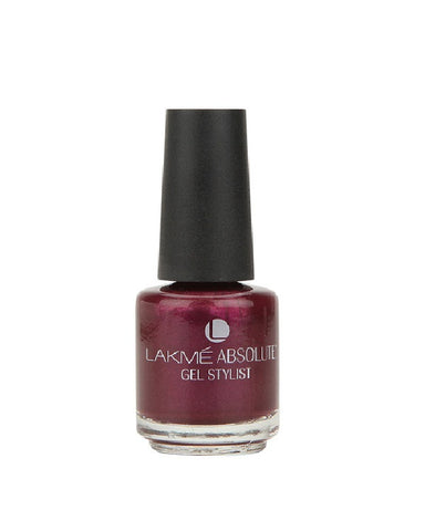 LAKME ABSOLUTE GEL STYLIST NAIL PAIN GRAP BLOSSOM-15 ML