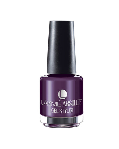 LAKME ABSOLUTE GEL STYLIST NAIL PAINT AMETHYST-15 ML