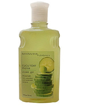 Bath And Body Works Pleasures Collection Cucumber Melon Shower Gel 295Ml