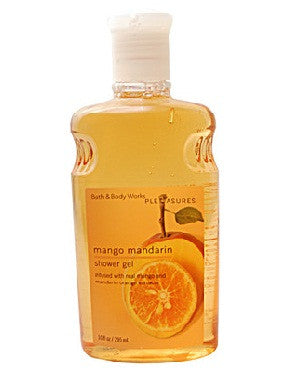 Bath And Body Works Pleasures Collection Mango Mandarin Shower Gel 295Ml