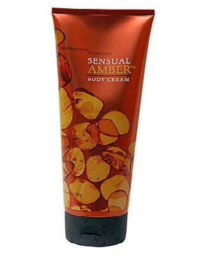 Bath And Body Works Pleasures Collection Sensual Amber Body Cream 226Gm