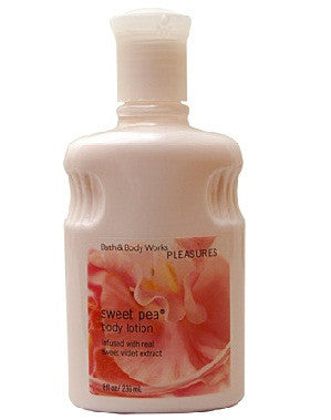 Bath And Body Works Pleasures Collection Sweet Pea Body Lotion 236Ml