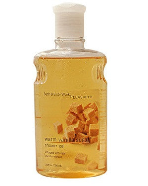 Bath And Body Works Pleasures Collection Warm Vanilla Sugar Shower Gel 295Ml