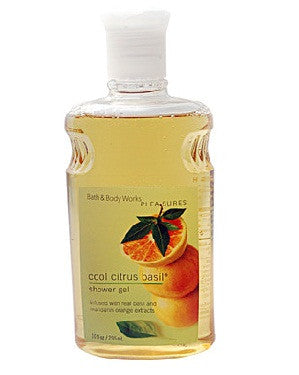 Bath And Body Works Pleasures Cool Citrus Basil Shower Gel 295Ml