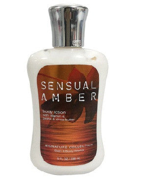 Bath And Body Works Sensual Amber Body Lotion 236Ml