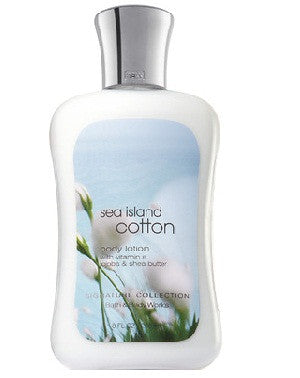 Bath And Body Works Body Lotion - Sea Island Cotton 236Ml