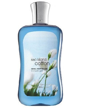 Bath And Body Works Shower Gel - Sea Island Cotton Cotton Blossom 295Ml