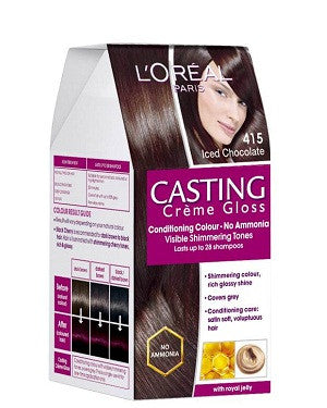 L'Oreal Paris Casting Cream Gloss-Iced Chocolate 415