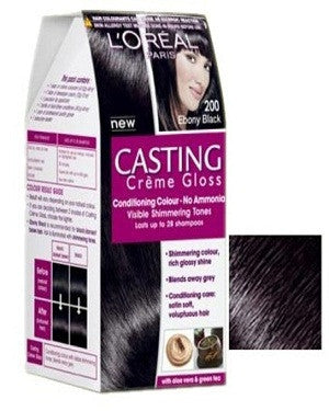 L'Oreal Paris Casting Cream Gloss-Ebony Black 200