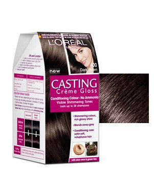 L'Oreal Paris Casting Cream Gloss-Dark Brown 400