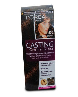 L'Oreal Paris Casting Creme Gloss-Praline Brown 530