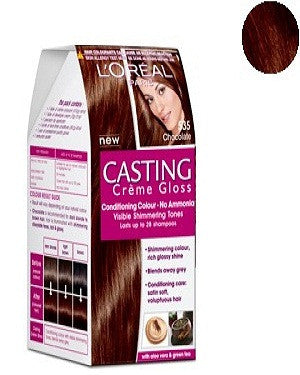 L'Oreal Paris Casting Creme Gloss-Chocolate 535