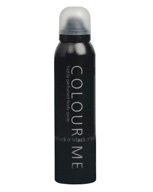 Colour Me Body Spray (Black) (150Ml)-Man