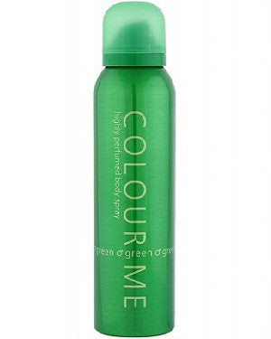 Colour Me Body Spray (Green) (150Ml)-Man