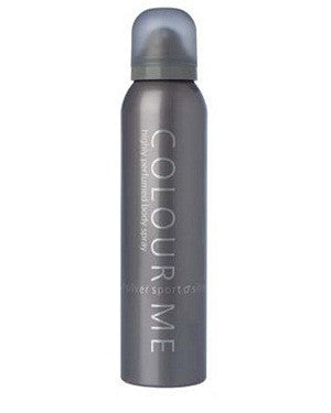 Colour Me Body Spray (Silver Sport) (150Ml)-Man