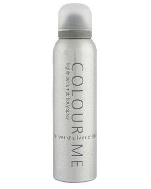 Colour Me Body Spray (Silver) (150Ml)-Man