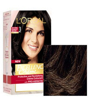 L'Oreal Paris Excellence Creame-Natural Darkest Brown 3