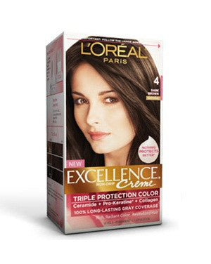 L'Oreal Paris Excellence Creame-Dark Brown 4