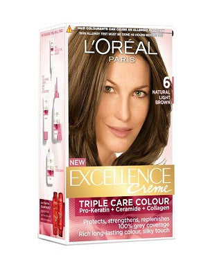 L'Oreal Paris Excellence Creame-Light Brown 6