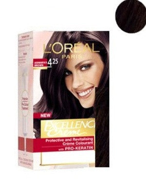 L'Oreal Paris Excellence Creame-Chocolate Brown 425
