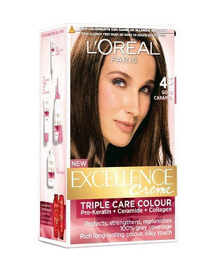 L'Oreal Paris Excellence Creame-Gold Caramel 43