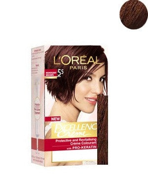 L'Oreal Paris Excellence Creame-Mahogany Brown 5.5