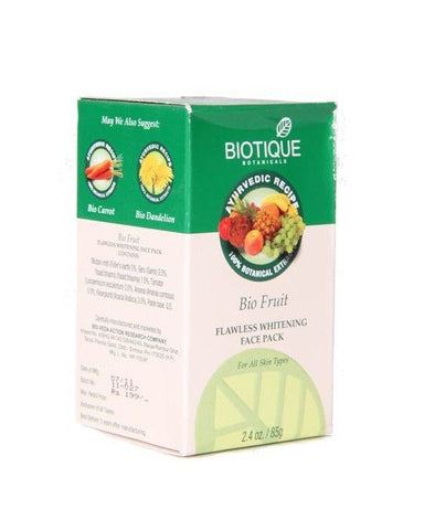 Biotique Bio Fruit Flawless Whitening Face Pack (85Gm)