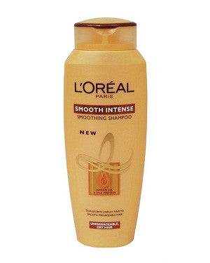 L'Oreal Parissmooth Intense Smoothing Shampoo (180Ml)