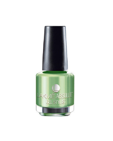 Lakme Absolute Gel Stylist Nail Paint Mint Julep-15 Ml