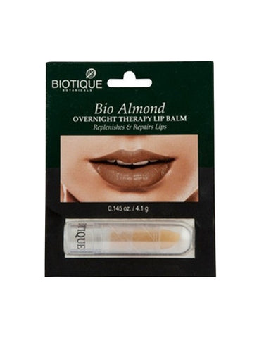 Biotique Bio Over Night Therapy Lip Balm Almond (4.1Gm)