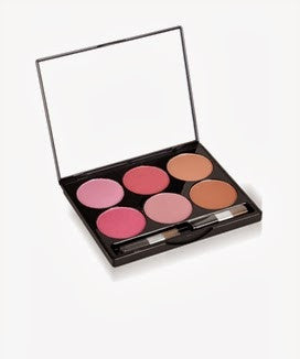 Meylon Paris  Blush 6 Shade Mix-1