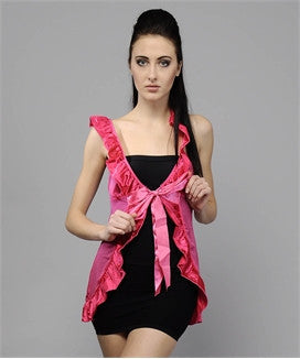 K75-2433 Pink Baby Doll Nighty