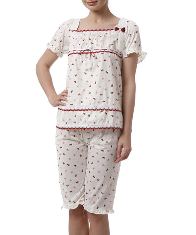 K75-2745 2 Pcs Set Nightwear