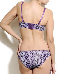 K66-2473 Purple Bra And Panty Set