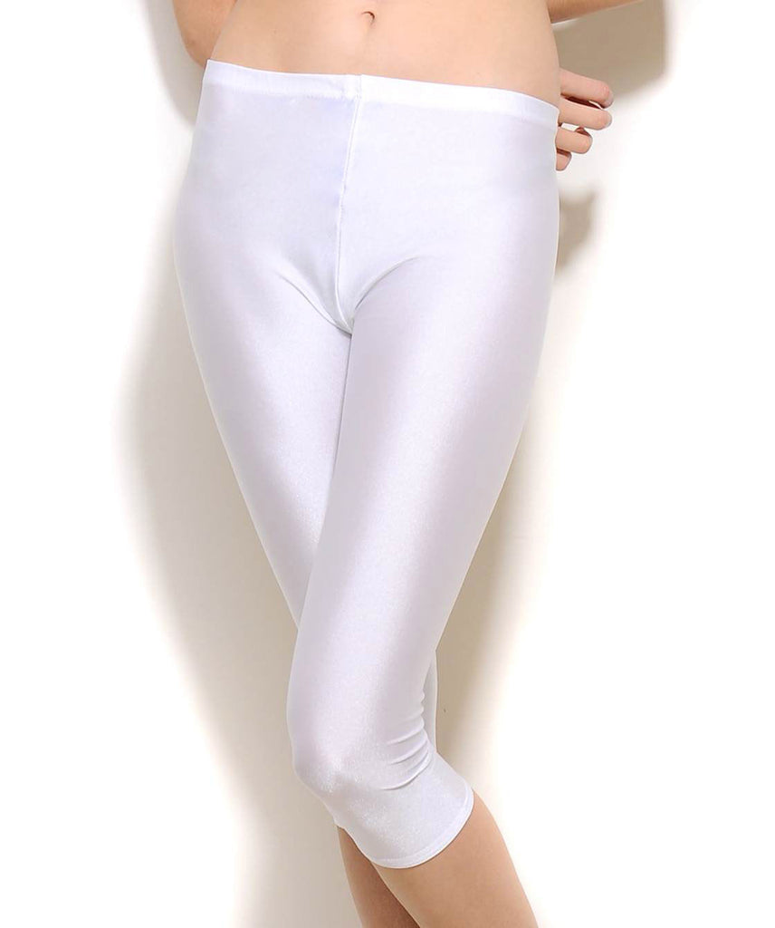 K69-990 White 3/4 Legging