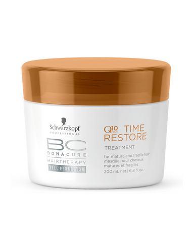 Schwarzkopf Professional Bc Bonacure Hair Therapy Amino Cell Rebuild Time Restore Treatment  For Mature And Fragile Hair (200Ml)