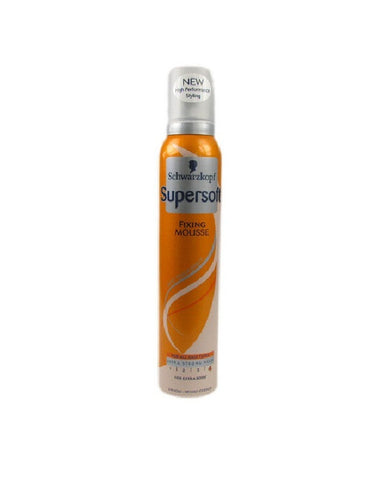 SCHWARZKOPF SUPERSOFT FIXING HAIR MOUSSE