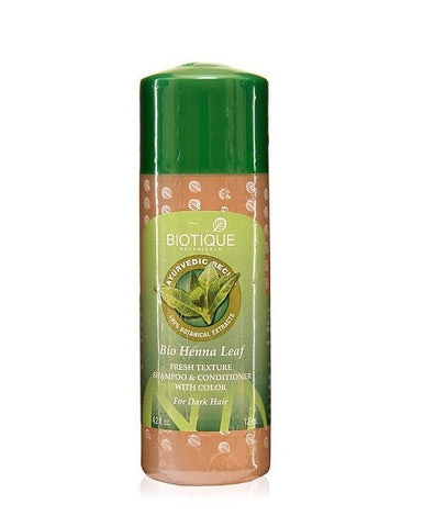 Biotique Bio Henna Leaf Fresh Texture Shampoo & Conditioner With Color (210Ml)
