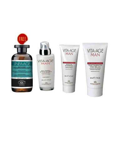 Bottega De Lunga Vita Skin Care Man Kit Buy 3 Get 1 Free